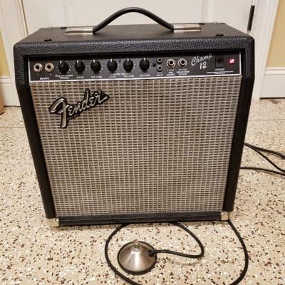 Fender Champ 12 tube amp  with speaker upgrade for sale