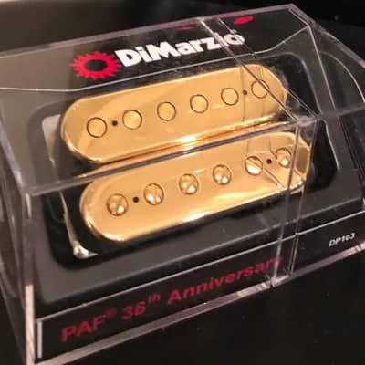 DiMarzio PAF 36th Anniversary Gold Top Humbucker,  (Regular Spaced)