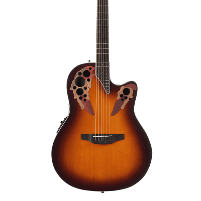 Ovation CE48-1 Celebrity Collection Elite Super Shallow 6-String Acoustic-Electric Guitar