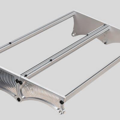 Custom Eurorack 104hp Modular synth mount/frame. Custom aluminum manufacturing. Aluminum