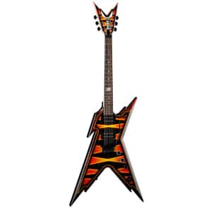 Dean Razorback Dimebag Floyd Bumblebee Firefly 6-string Guitar w/ Case