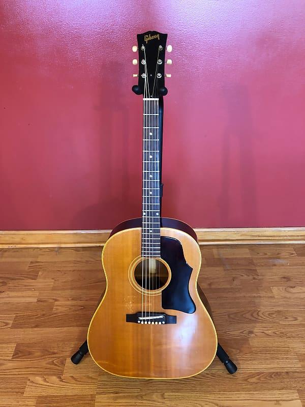 vintage 1967 gibson j 50 natural acoustic guitar w original reverb. Black Bedroom Furniture Sets. Home Design Ideas