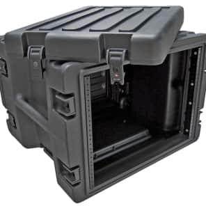 SKB 1SKB-R8W Molded 8U ATA Rolling Rack Case