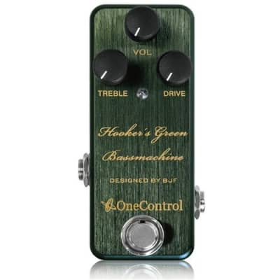 One Control Hooker's Green Bass Pedal for sale