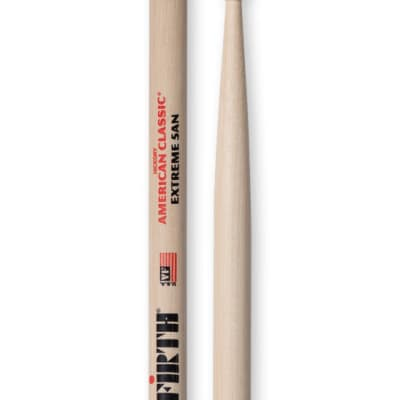 Vic Firth X5AN American Classic Extreme 5A Hickory Drumsticks with Nylon Tips