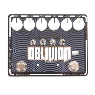 SolidGoldFX Oblivion Quad Flanger Pedal
