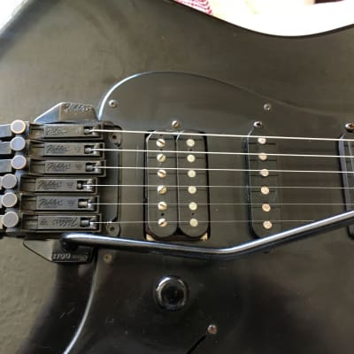 Charvel/Jackson Model 3 - TM series 1986 Black on Black Screamer w/new hard case ! for sale