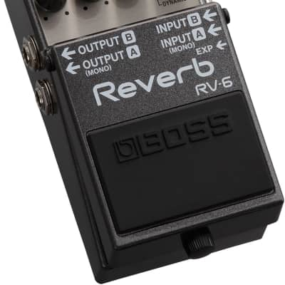Boss RV-6 Digital Delay/Reverb Guitar Effects Pedal With Newly Developed Algorithm for sale