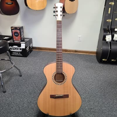 Used Andrew White EOS 100 NS Acoustic Guitar, Natural Finish for sale