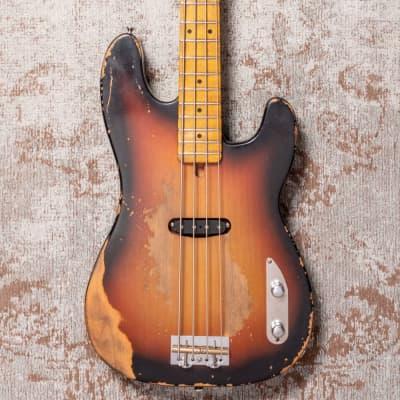 Rittenhouse P-Bass Sunburst Sting Replica for sale