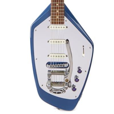 Used USA Phantom Electric Guitar Blue for sale