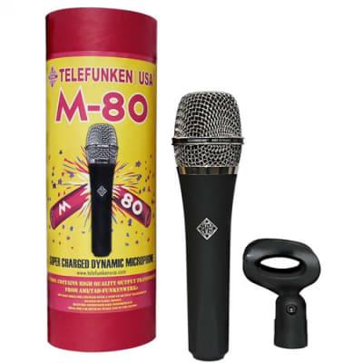 Telefunken M80 Dynamic Handheld Vocal Microphone Mic M-80 ST
