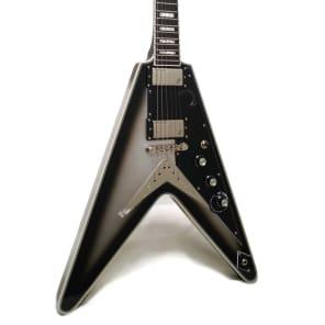 Epiphone Brent Hinds Flying V Custom Electric Guitar Silverburst