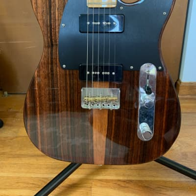 Fender  Fender Limited Edition Malaysian Blackwood Telecaster Guitar 2017 Brown for sale