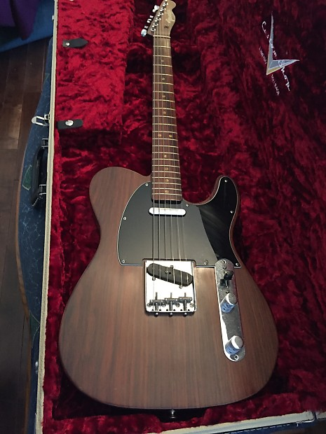 fender limited edition rosewood telecaster
