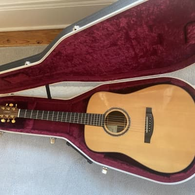 Lakewood D-32 Natural Top High End Acoustic Guitar With Original Hard Case OHSC for sale