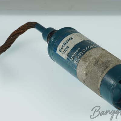 Vintage Westinghouse Ignitron WL 5550 / 681 Premium Tube Valve- BangyBang Tubes