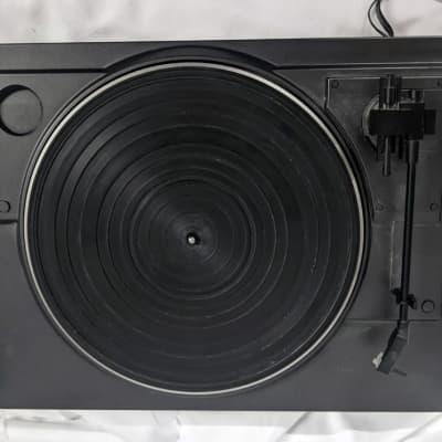 Rare Sharp RP-4500(GY) Stereo Turntable - 1990 Black