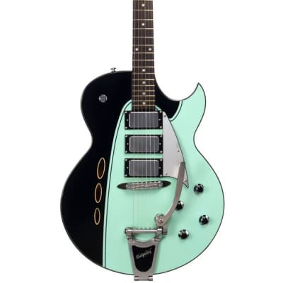 Backlund Rockerbox DLX - Ebony Black and Mint for sale