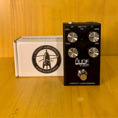 J. Rockett The Dude V2 Overdrive Pedal with Original Box