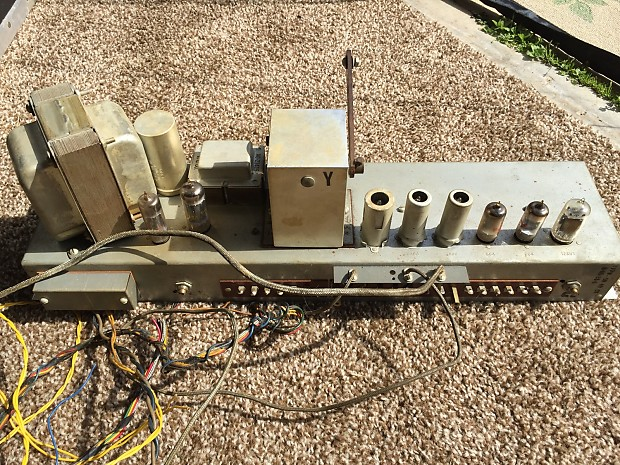 Hammond AO-28-5 1960 Organ Preamp | Gary's Groovy Gear on