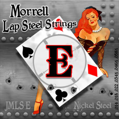 Morrell JMLS-E Nickel Steel 6-String Lap Steel Strings for E Tuning for sale