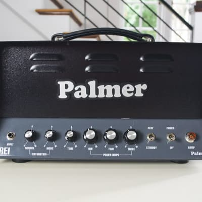 Palmer Drei 15-Watt Head w/ Blendable EL84, 6V6 & 6L6 for sale