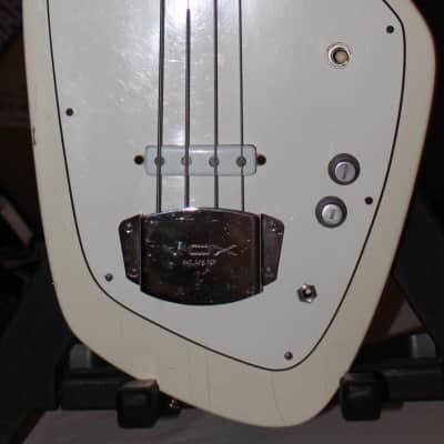 1965 Vox UK-made Phantom IV Bass Guitar White for sale