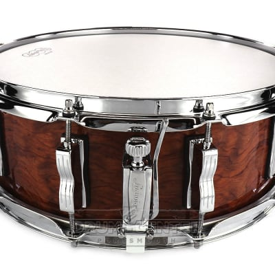Ludwig Classic Maple 14x5 Snare Drum - Bubinga Gloss - Blowout Deal!