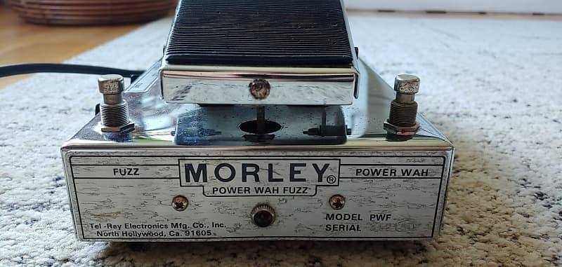 morley power wah fuzz pwf silver 1970s zero amplification reverb. Black Bedroom Furniture Sets. Home Design Ideas