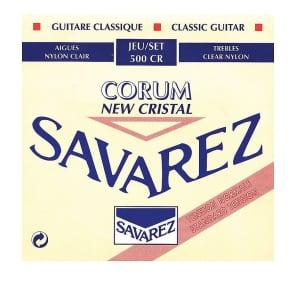 Savarez 500CR New Cristal Corum Classical Guitar Strings - Normal Tension