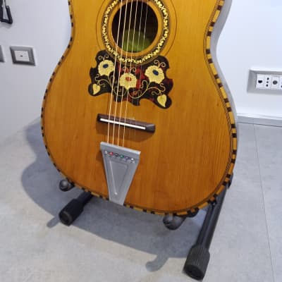 Carmelo Catania acoustic Guitar Wolf 1950/60 Natural for sale