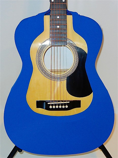 Acoustic Guitar Cover Vest (Blue) 000/OM - Fits Martin / Gibson / Taylor /  Takamine / all brands