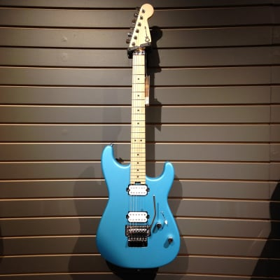 Charvel Pro-Mod San Dimas Style 1 HH FR M, Maple Fingerboard, Matte Blue Frost for sale