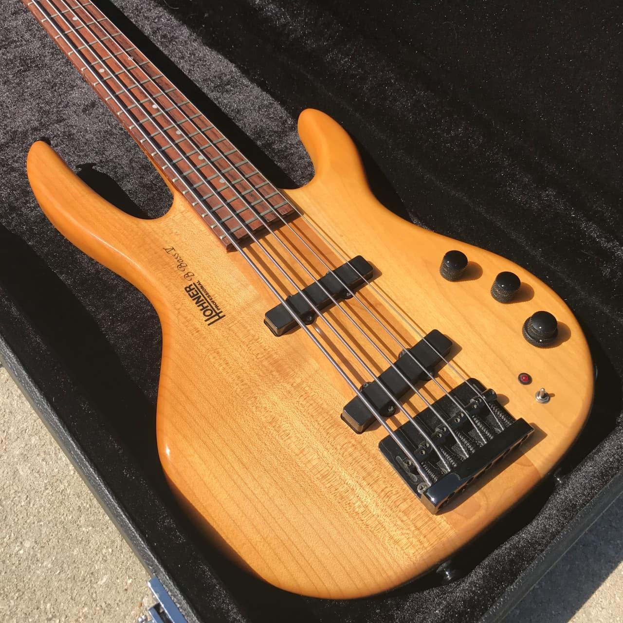 hohner professional b bass v guitar 5 string neck thru reverb. Black Bedroom Furniture Sets. Home Design Ideas