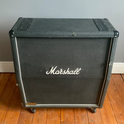 Marshall Marshall JCM 900 Lead 4x12 Angled Cab - (Made in 2001) 2001 Black for sale