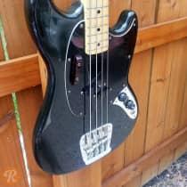 Fender Mustang Bass 1978 Black image