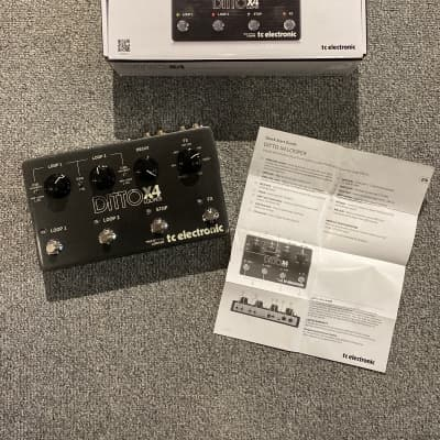 New Store Demo TC Electronic Ditto X4 Looper - Premium Looping Pedal