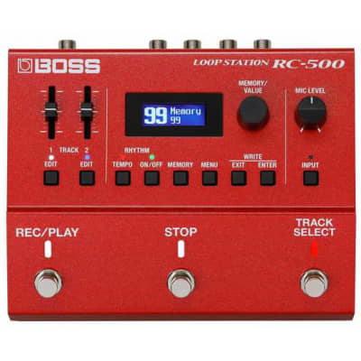 BOSS RC500 loop station 2 tracks for sale