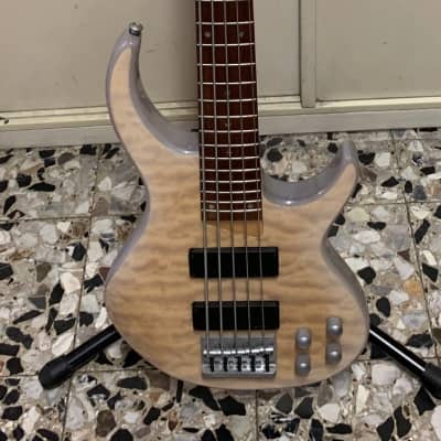 Jim Reed JR-QT5 WA 5 String Active White Ash for sale