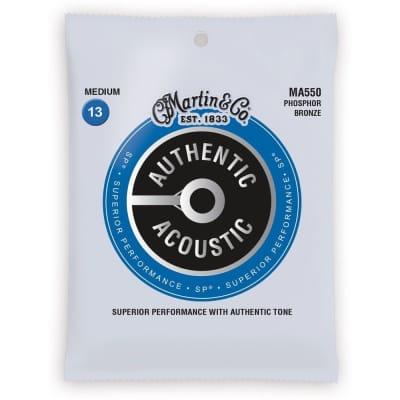 Martin SP MA550 Phosphor Bronze Acoustic Guitar Strings 13-56