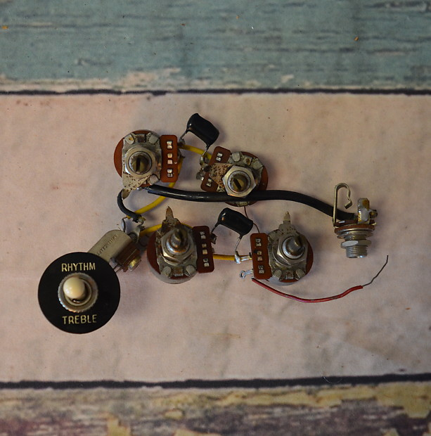 vintage original 73 gibson sg wiring harness reverb b guitar wiring harness rickenbacker b guitar wiring diagram