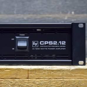 Electro-Voice CPS2.12 Contractor Precision Series 2 x 1200-Watt Power Amplifier