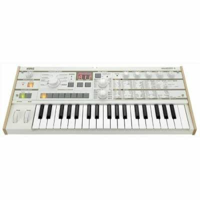 Korg MicroKorg S Synthesizer & Vocoder (white) (B-STOCK)