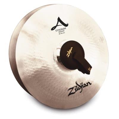"""Zildjian 18"""" A ZILDJIAN STADIUM SERIES MEDIUM PAIR A0483 Cymbal"""