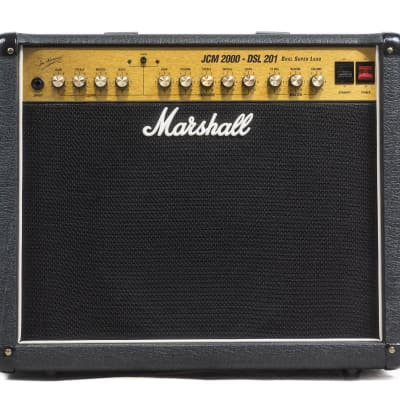 "Marshall JCM 2000 DSL 201 Dual Super Lead 2-Channel 20-Watt 1x12"" Guitar Combo"