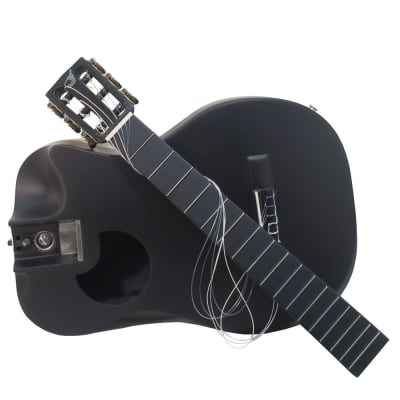 Journey Instruments OC660M Nylon String Carbon Fiber Travel Guitar @ LA Guitar Sales
