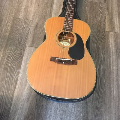 Lyle F-560 auditorium  acoustic guitar 1960s or 1970s Natural made in Japan in very good condition for sale