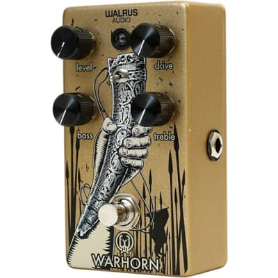 Walrus Audio Warhorn Mid-Range Overdrive Pedal for sale