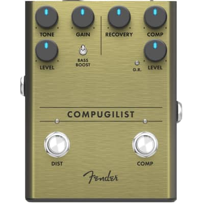 Fender Compugilist Compressor Distortion effects pedal for sale